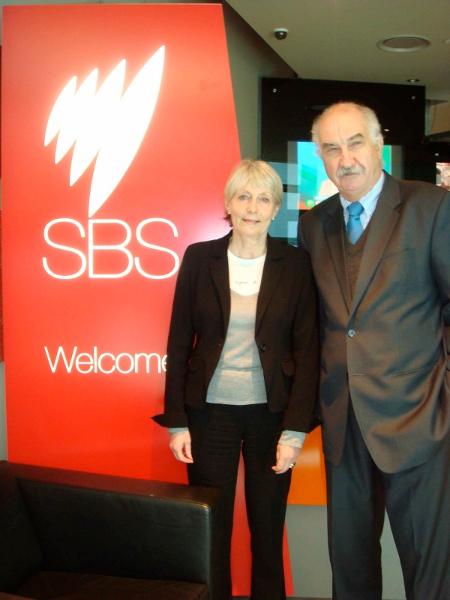 Melbourne, Interview SBS avec la Sénatrice Claudine Lepage