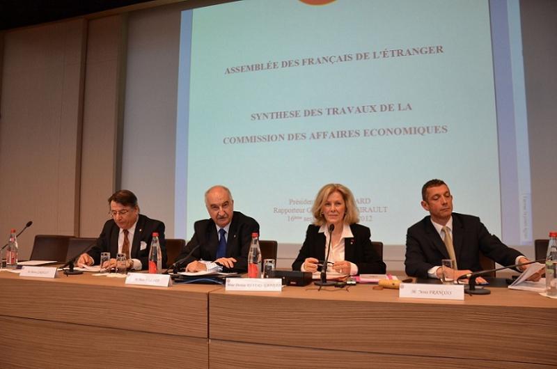 Session de l Assemblee des Francais de l Etranger