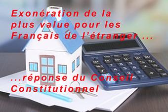 Imposition des plus-values immobilières : le régime fiscal pour les non résidents est maintenu.