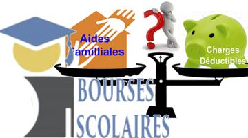 Bourses Scolaires: Aides Familiales et Charges déductibles…Quand le bon sens prévaut ….(bis)