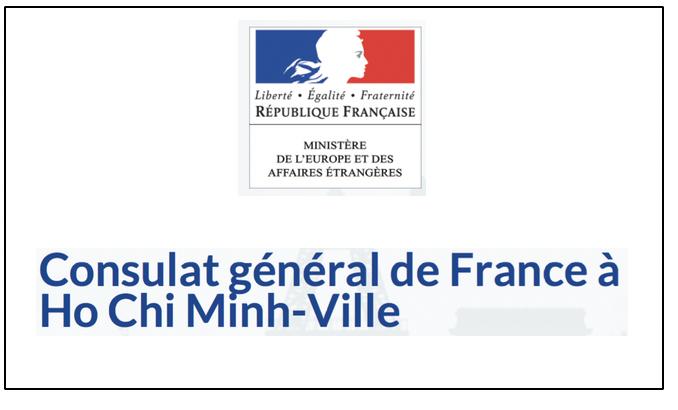 Message du Consul Général de France, Ho Chi Minh Ville