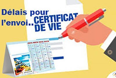 Vous vous inquiétez de ne pas pouvoir faire valider le votre certificat de vie ou de ne pas avoir reçu de demande ?