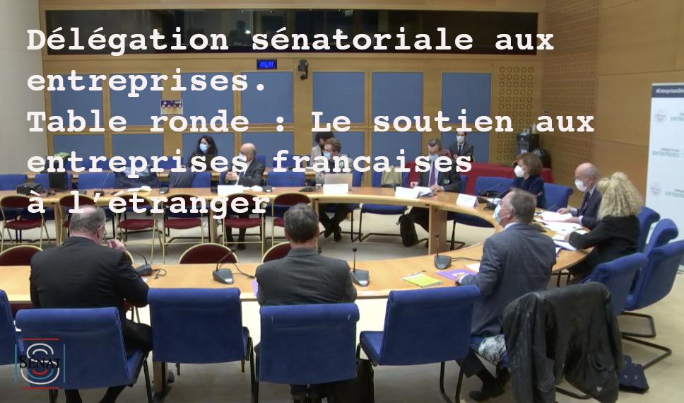Table ronde sur les demandes des entreprises françaises à l'étranger