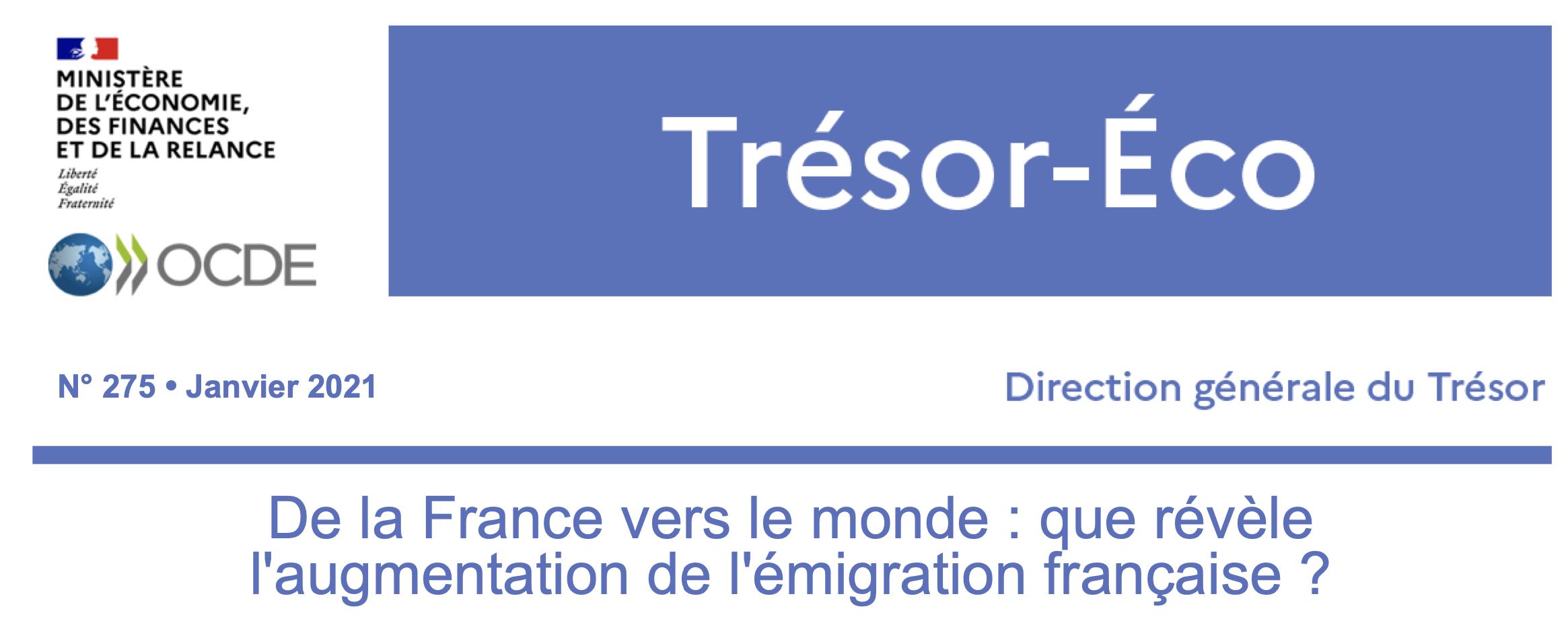 De la France vers le monde : que révèle l'augmentation de l'émigration française ?