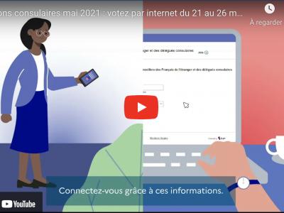 Election des Conseillers des Francais de l'Etranger : Présentation du vote par internet